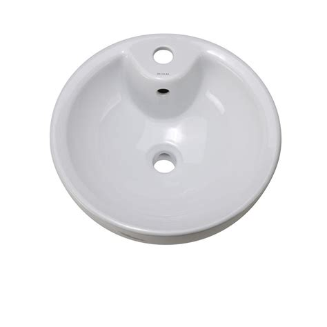 decolav classically redefined vessel sink in white 1451
