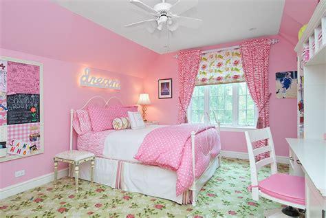 Best Modern Pink Girls Bedroom-theydesign.net