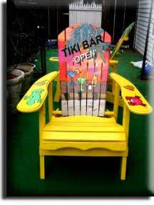 Margaritaville Adirondack Chair Parrot by Adirondack Chair Yellow Tiki Bar Parrot Style