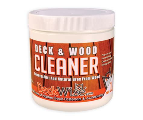 Sodium Percarbonate Wood Deck Cleaner by Wood Deck Cleaner Brightener Before Oiling Deckwise