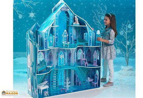 maison de poup 233 es disney le manoir glac 233 de la reine des neiges kidkraft