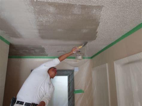 popcorn ceiling removal sppokane acoustic ceiling