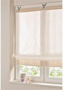 Haken Für ösen Gardinen : 2x raffrollo rollo je 45 x 140 wei natur blickdicht haken sen baumwolle neu ebay ~ Markanthonyermac.com Haus und Dekorationen