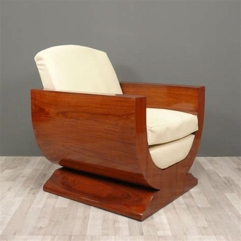 palatial curved base wooden deco furniture with white fabric seater as inspiring retro