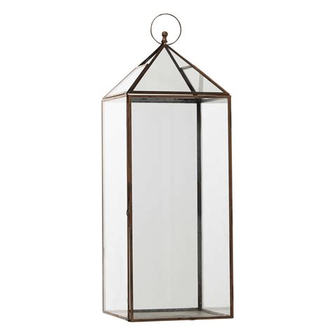 lanterne en m 233 tal cuivr 233 h 69 cm zo 201 maisons du monde