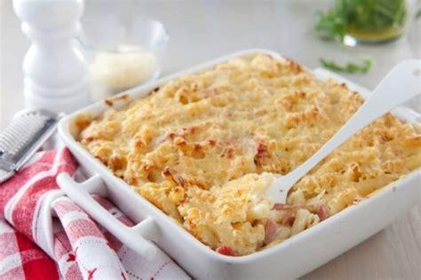 recette de gratin de p 226 tes au jambon et au fromage rapide