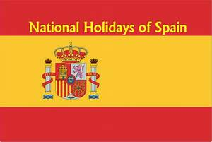 National Holidays of Spain - Updated | NationalExtras.com