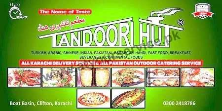 Dera Boat Basin Menu by Tandoori Hut Restaurant Boat Basin Clifton Karachi