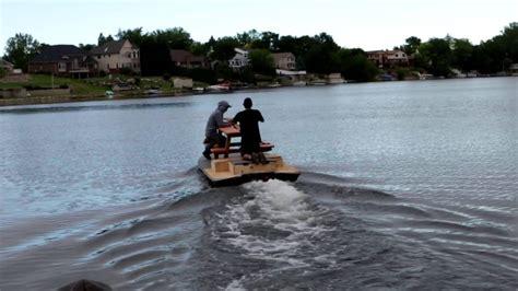 Jet Ski Boat Youtube by Picnic Table Jet Ski Fishing Boat Youtube