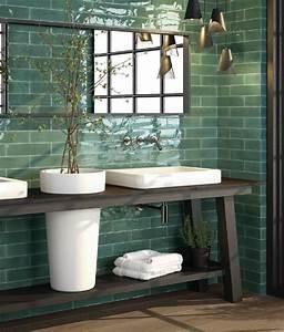 Vintage Fliesen Bad : die 25 besten ideen zu retro badezimmer auf pinterest ~ Markanthonyermac.com Haus und Dekorationen