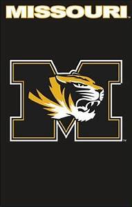 NCAA Missouri Tigers Applique Banner Flag by Party Animal ...
