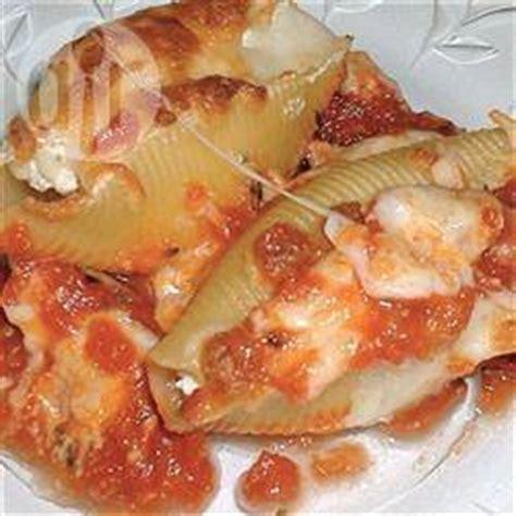 recette p 226 tes coquilles farcies au fromage et au bacon toutes les recettes allrecipes