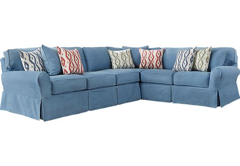 home beachside blue denim sofa 15