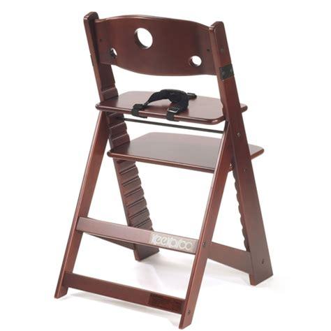 keekaroo height right high chair mahogany