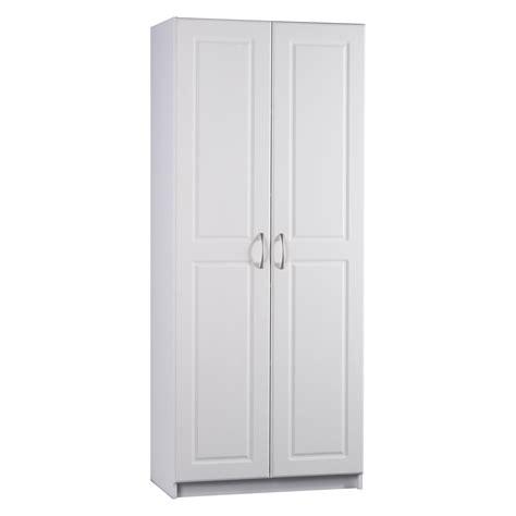 ameriwood contemporary deluxe door pantry cabinet