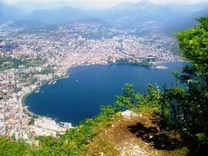 San Salvatore Lugano : blick vom monte san salvatore auf lugano foto bild europe schweiz liechtenstein kt ~ Markanthonyermac.com Haus und Dekorationen