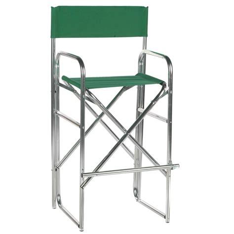 30 5 inch aluminum frame bar height directors chair www