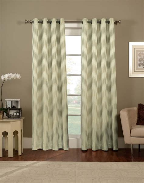 pattern grommet curtains rooms