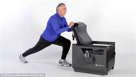 fitness chair promises to improve strength and flexibility daily mail