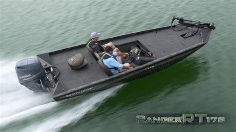 Ranger Aluminum Boats Youtube by Ranger Aluminum Rt178 On Water Footage Youtube