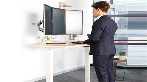 Electric Ergonomic Standing Office Desk (height Adjustable. Front Desk Executive Interview Questions. Chair With Arm Desk. Storage Drawers For Closet. Isamu Noguchi Table. Computer Desk Deals. Science Tables. Bottom Mounted Drawer Slides. Changing Table Top