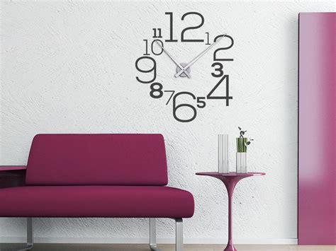 Wandtattoo Uhr Große Zahlen Wanduhr Wandtattoode