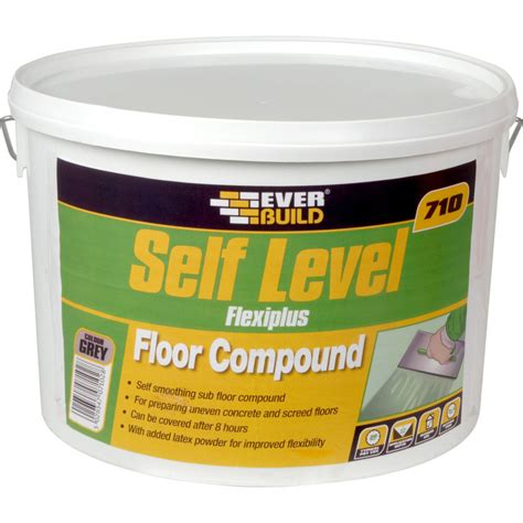self levelling floor compound 10kg toolstation