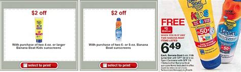 Banana Boat Queen by Banana Boat Target Become A Coupon Queen