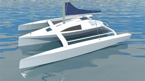 Catamaran Plans Plywood by Trimaran Plans Plywood Small Wooden Sailboats For Sale