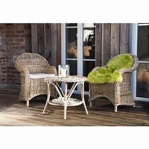 Sitzkissen Für Rattansessel : rattansessel laurent mit abnehmbarer sitzauflage wohnambiente shop ~ Markanthonyermac.com Haus und Dekorationen