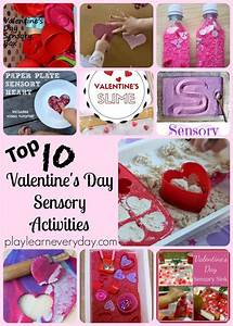 Top Ten Valentine's Day Sensory Activities | Sensory play ...