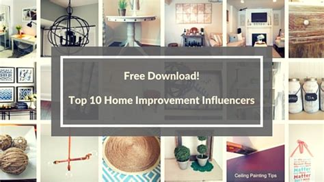 Home Decor Influencers : Top 10 Home Improvement/ Diy Influencers On The Web Today