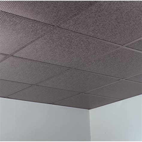 fasade ceiling tile 2x2 suspended rib in galvanized steel