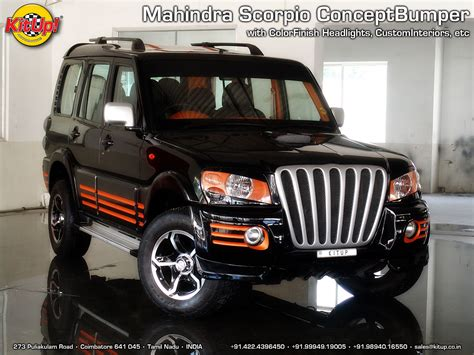 Mahindra Scorpio Modified  Modified Cars Mahindra