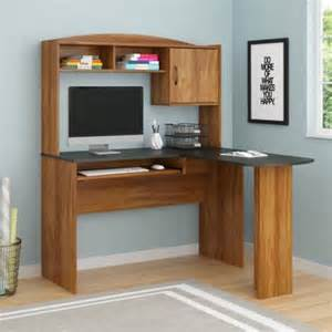 mainstays l shaped desk with hutch finishes
