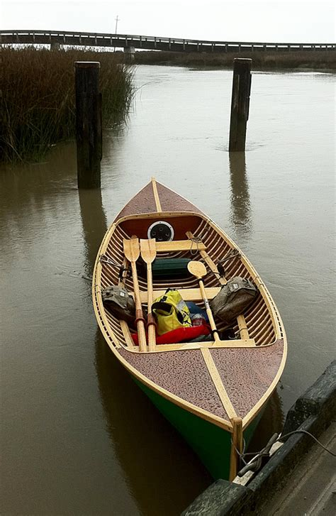 Rowboat In The Rain by Thorne S Chamberlain Dory Skiff Sailing And Event Pics
