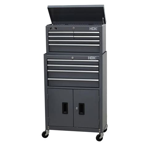 wen 41 in 24 drawers combo tool chest and cabinet
