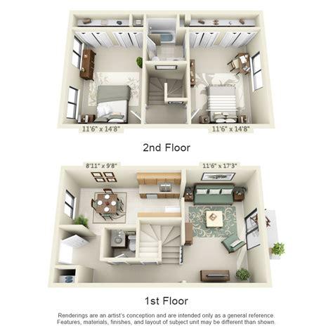 3d floor plan image 2 for the 1 bedroom studio floor plan floor plans pricing