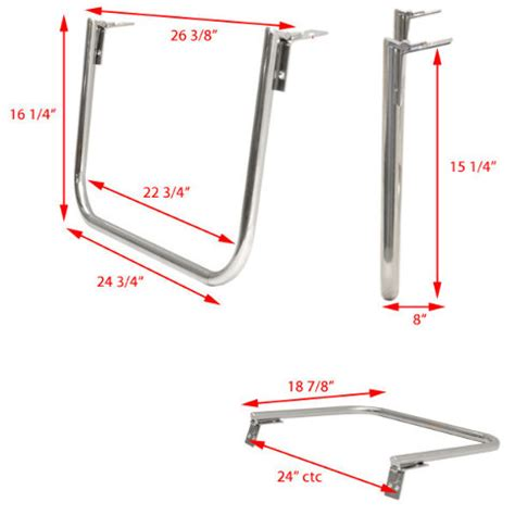 Sea Ray Boat Ladders by Sea Ray 1893083 Polished Stainless Steel Marine Boat 1