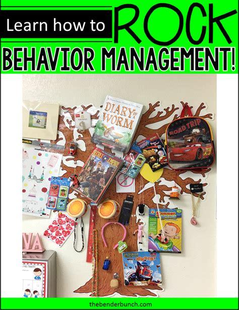 The Bender Bunch My Classroom Behavior Management Plan