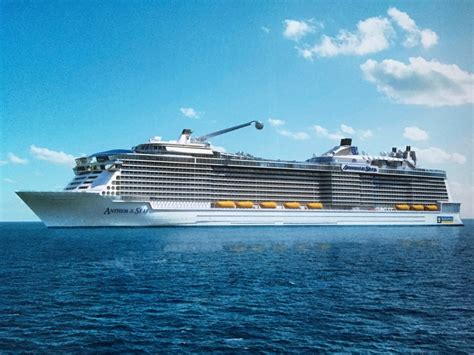 Review 'anthem Of The Seas' Anthem's Maiden Voyage