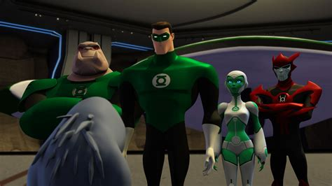 review green lantern the animated series the complete series comicsonline