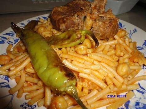 recettes de pates macaronis arabes cuisine algerienne epices tomate piment de cuisine de zika