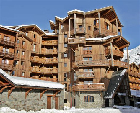 catered chalets in val thorens