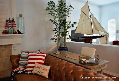 July 4 Home Decor : Interior Decor For The Fourth Of July