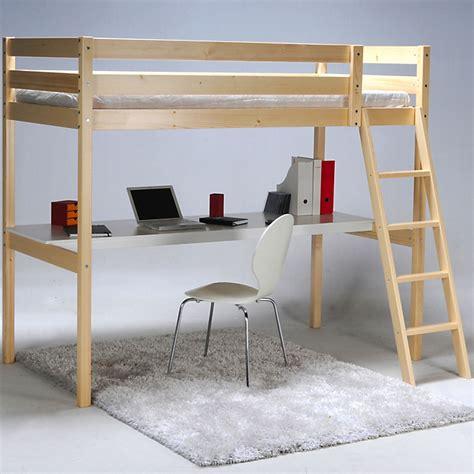 lit mezzanine 1 place avec bureau 90x190cm aspen d 233 coration int 233 rieur alin 233 a