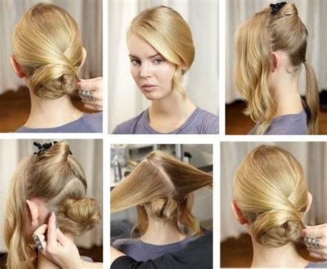 15 Simple Step By Step Hairstyles Long Layered Thick Hairstyles How To Do Half Up Wedding Barbie Hairdressing Set With Hairdryer And Cuts For Fine Hair Layers Medium Length Cute Braids 2 Ways Wear Down Naturally Curly Extensions Blonde