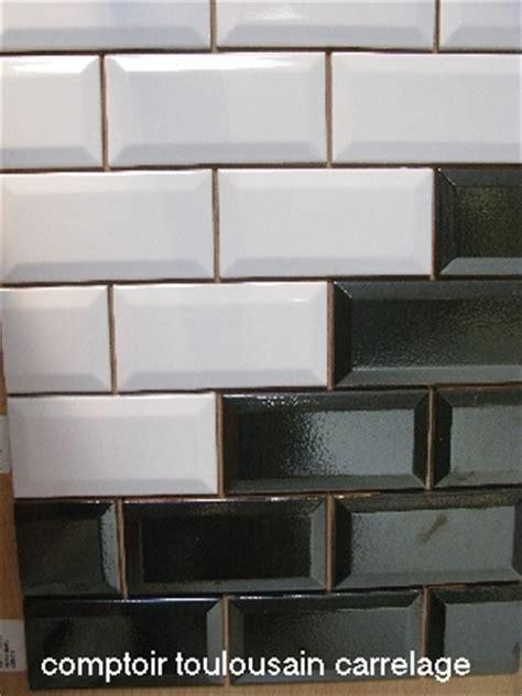 carrelage metro 7 5x15 haut de gamme noir blanc carrelage 1er choix carrelage metro 7