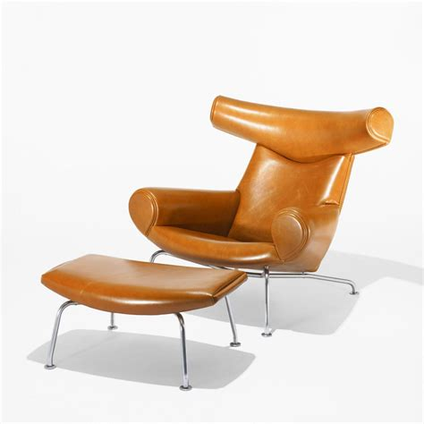 Ox Chair 3d Model by Hans Wegner Ox Chair Model 46 And Ottoman Model 49