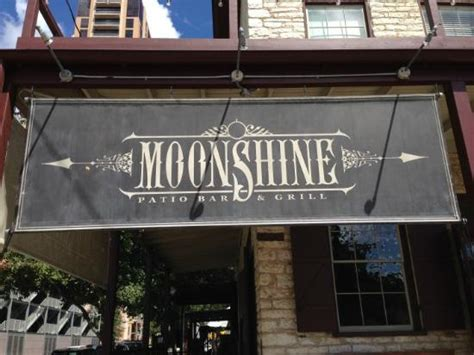 Moonshine Patio Bar And Grill by Moonshine Restaurant Board Picture Of Moonshine Patio